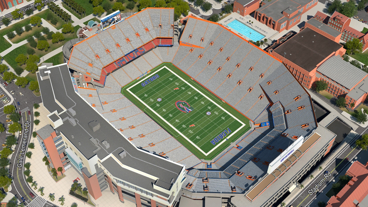 Florida Football Virtual Venue By Iomedia